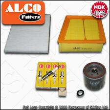 SERVICE KIT FORD FIESTA MK7 1.25 1.4 1.6 ALCO OIL AIR CABIN FILTER PLUGS (08-17)