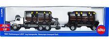SIKU 1804 1:87 Scale Mercedes Benz Zetros Logging Truck & Trailer - BNIB