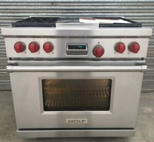 WOLF 36 INCH WIDE RANGE COOKER A36
