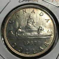 1937 CANADA SILVER  DOLLAR HIGH GRADE CROWN