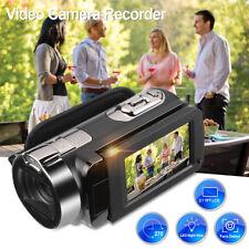 1080P FHD Numérique Caméscope Caméra Vidéo 2.7 TFT LCD 24MP 16x Zoom DV VGA HDMI