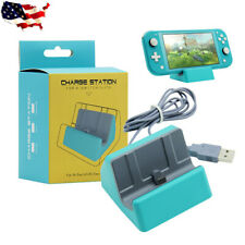 USB Type-C Charger Charging Dock Station Stand for Nintendo Switch Lite/ Switch