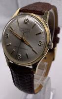 Vintage Crosby 17 Jewel Self Winding Series 9021 Running In Great Condition.