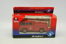 Solido Pompiers 1/50 - Berliet Camiva Paris