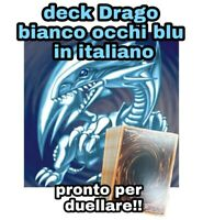 Yu-Gi-Oh! Deck Mazzo Completo Drago Bianco Occhi Blu - Pronto per Duellare #NSF3