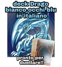 Yu-Gi-Oh! Baraja Completo Dragón Blanco Ojos Azul - Listo Para Duellare #NSF3