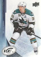 2013-14 Upper Deck Ice Hockey #20 Logan Couture San Jose Sharks
