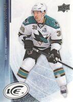 2013-14 Upper Deck Ice Hockey #20 Logan Couture San Jose Sharks