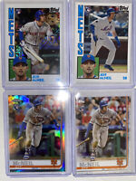 2019 Topps Chrome RC Silver  #T84-33 Jeff McNeil &  Chrome Refractor RC /4 Cards