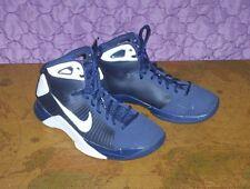 2008 Nike HYPERDUNK TB ELITE Duke Navy White Silver 324828-412  Size 7.5 youth