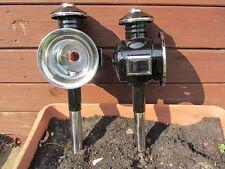 1 Paar Kutschlampen Kutschenlampen N14  chrom/schwarz,  für  Shettykutschen