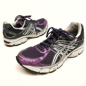 ✅❤️✅@ Asics Gel-Pulse 3 Women's Running Sneakers Mesh purple silver 9 Eu40.5