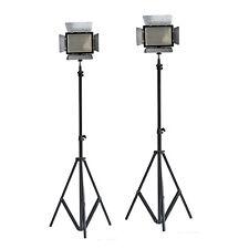 LED Videoleuchte Dauerlicht Kameralicht Set 2x Yongnuo YN-300+2x Stativ