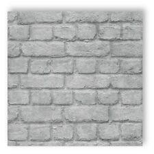 Rasch Silver Brick Wallpaper - 226751
