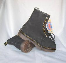 DOCs NEW Vintage Black TNT 8 Eyelet Dr. Martens Boys' Classic Boots UK 6 USA 7