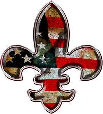 make america great again fleur de lis decal sticker