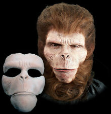 Chimpanzee Ape Halloween Mask Foam Latex Prosthetic Appliance Moves with Face