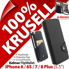"Krusell Kalmar Flip Wallet Case Cover for Apple iPhone 6 / 6S / 7 / 8 Plus (5.5"""
