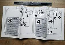Gigantic Console Setup Instruction poster super nintendo snes