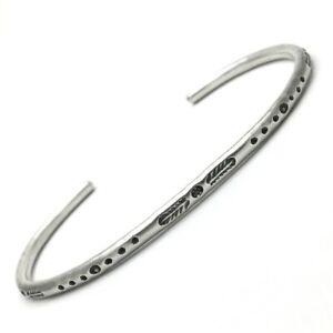 Bangle Fine Silver 925 - Bracelet Pattern Ethnic Indian - Jewel Man