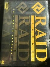 Fishing DVD  Lure magazine Presents RAID JAPAN Movie catalog 2013 New goods