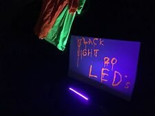 "10 strips 7"" UV Ultra Violet Black Light Lamp LED WaterProof 12v FAST SHIPPING"