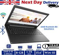 Lenovo IdeaPad 310-15ABR 15.6-inch Laptop AMD A10 2.40Ghz 8GB RAM 1TB HDD Win 10