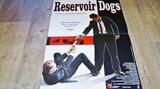 tarantino RESERVOIR DOGS  !  affiche cinema
