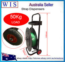 PP/Pet Belt Plastic Strapping Trolley,Steel POLY Strapping Dispenser,50Kg Load