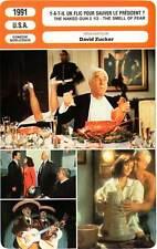 FICHE CINEMA : Y A-T-IL UN FLIC POUR SAUVER LE PRESIDENT ? Nielsen,Zucker 1991