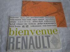 Bienvenue à l'Usine Renault Le Mans brochure French issue 1970 S