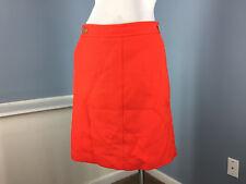 New Talbots m 8 P Cherry Red Straight Skirt Career Cocktail