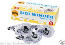Marbig Sidewinder Correction Tape 5mm x 8m Box of 12 - AA975753