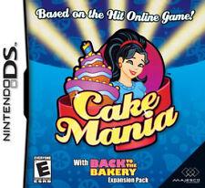 Cake Mania NDS New nintendo_ds