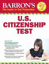 Barron's U. S. Citizenship Test, 8th Edition by Gladys E. Alesi M.B.A. (2013,...