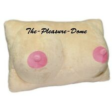 Plush Boobie Pillow Boobs Breasts Comfy Cushion Pillow Stag Hen Night Xmas