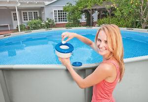 "Genuine Intex 17.8cm 7"" Floating Pool Spa Chemical Chlorine Dispenser Feeder"