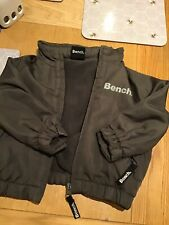 BOYS USED BRANDED BENCH ZIP-UP JACKET COAT 6-9 MONTHS