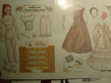 Vtg 1993 Karen Prince RITA French Fashion Doll Paper Doll / UNCUT