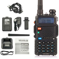 Two Way Radio Scanner Transceiver Handheld Police Fire Portable F-Antenna Ham