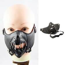 DARK IN LOVE Hannibal Leder Maske Horror Halloween Psycho Maske Leather Mask