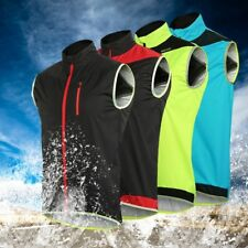 Windproof Waterproof MTB Cycling Vest  Bike Bicycle Breathable Reflective Vest