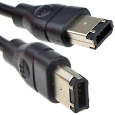 Firewire DV/Camcorder/Camera/Interface Cable 6 to 6 pin (PC or Mac) 2m [007139]