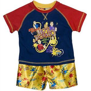 New Boys Wiggles Pyjamas/Pajamas