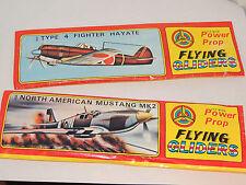 WW II Airplanes set of 2 Flying Gliders unopened original package (10021)