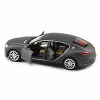 Diecast Alloy 1/32 Grey Vehicle Model Bugatti Veyron 16C Galibier W/Light Sound