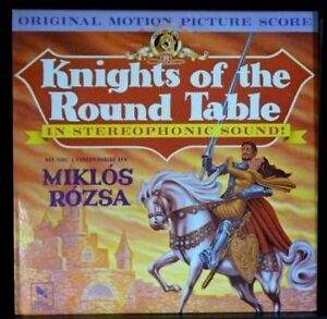 Knights Of The Round Table Soundtrack - 1980 US Pressing  - NEAR MINT Vinyl LP