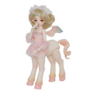 """New 1/4 Resin BJD MSD Lifelike Doll Joint Dolls Women Girl Gift Antu Horse 13"""""""