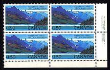 CANADA - 1982 - Parco nazionale dei laghi di Waterton