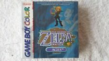 NINTENDO GAME BOY -  ZELDA ORACLE OF AGES (AUTHENTIC RED STRIP SEALED)